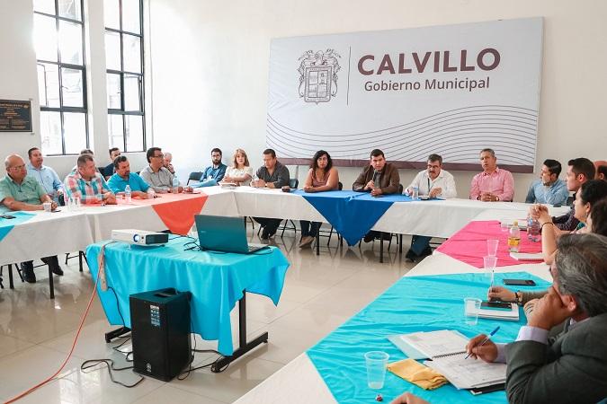 Implementan acciones de contención de contagio del coronavirus en Calvillo