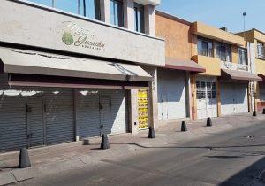 Se desploman ventas de comercios del centro de Aguascalientes
