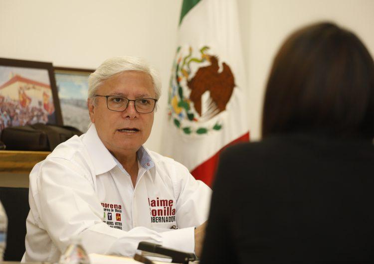 Prohíbe Jaime Bonilla salir a las calles de BC por motivos no esenciales