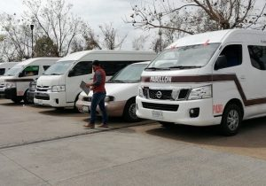 Por coronavirus, se reduce 80% demanda de pasajeros de combis