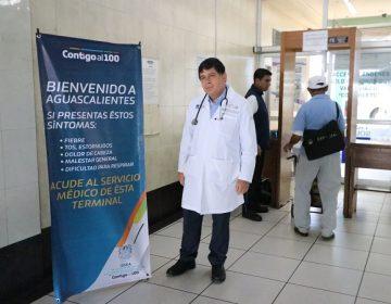 Refuerzan filtros sanitarios en el aeropuerto y central camionera de Aguascalientes