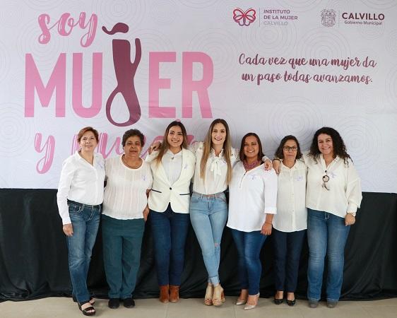 Lanzan programa interdisciplinario a favor de las mujeres en Calvillo