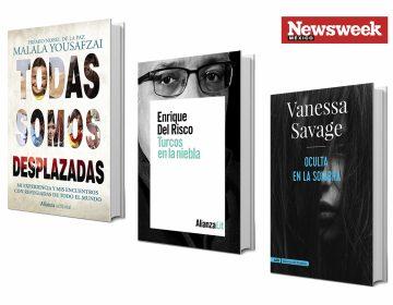Tres libros: Malala Yousafzai, Enrique del Risco, Vanessa Savage…