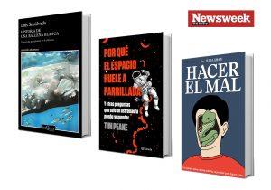Tres obras literarias: Luis Sepúlveda, Tim Peake, Julia Shaw…
