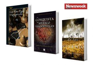 Tres libros de escritores mexicanos