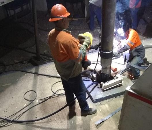 Concluye Veolia reparación de pozo en el Barrio de San Marcos