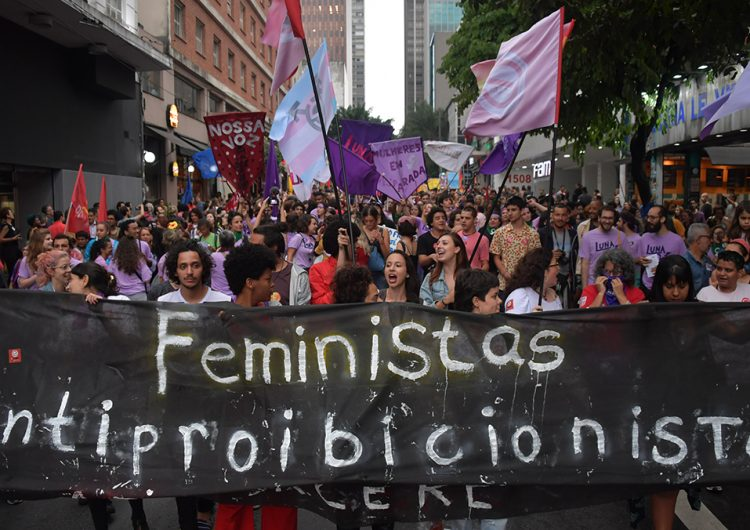 En el #8M, millones de mujeres hacen cimbrar el continente americano