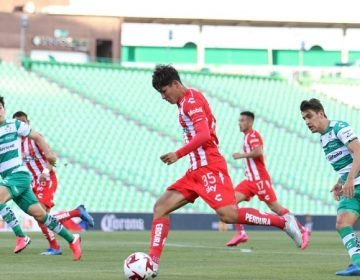 Necaxa suma nueva derrota frente a Santos