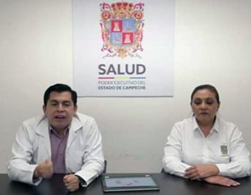 Campeche registra tres casos positivos