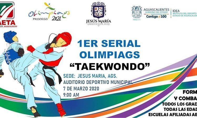 Recibirá Jesús María certamen de taekwondo este fin de semana