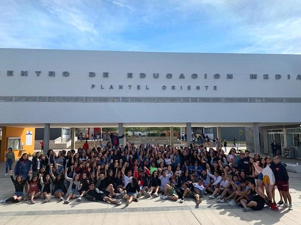 BachUAA Oriente se manifiesta en contra del reglamento universitario