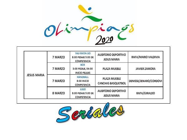 Será Jesús María sede de justas deportivas para las olimpiadas nacionales