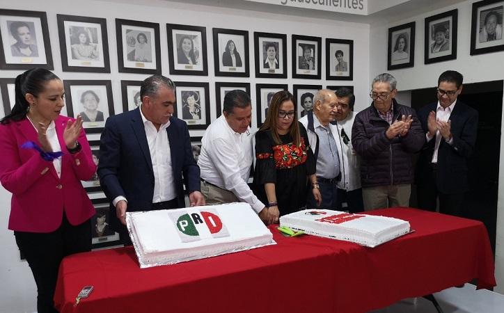 Renuncia dirigencia estatal del PRI en Aguascalientes