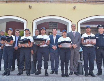 Se suman cinco nuevos policías municipales a Jesús María