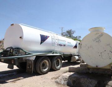 Dotará gobierno estatal de pipas con agua potable a comunidades de Aguascalientes