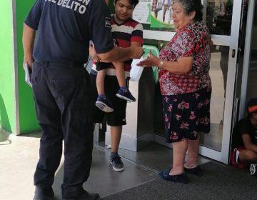 Se suman policías a prevención del coronavirus en Jesús María