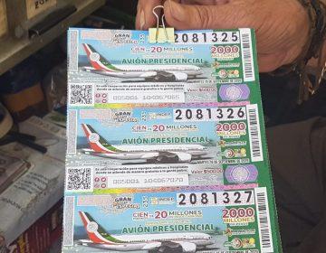 Comienza la venta de boletos para la rifa del avión presidencial en Aguascalientes