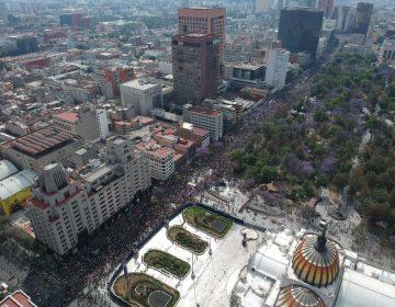 8M | La manifestación de mujeres contra la violencia feminicida y el machismo sacude México