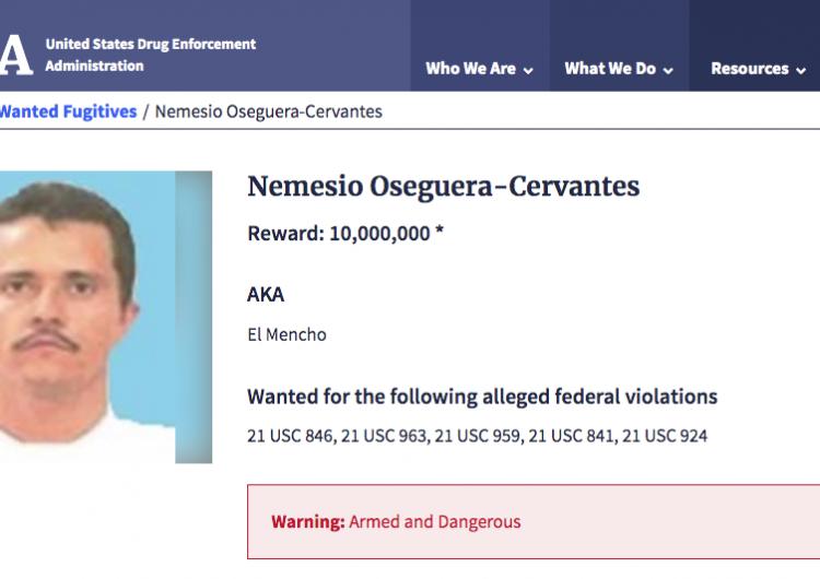 EU va por el Mencho: arresta a más de 600 personas relacionadas con el CJNG