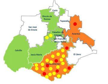 Se confirman dos casos nuevos de Covid-19 en Aguascalientes; ya son ocho