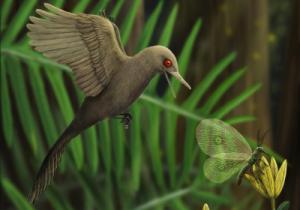 Descubren al dinosaurio más pequeño del mundo en un trozo de ámbar de 99 millones de años