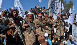 Los talibanes se reúnen con el gobierno de Afganistán por…