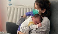 Tener un bebé y no poder tocarlo por el coronavirus