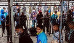 En cuarentena un campo de refugiados de Grecia tras 20…