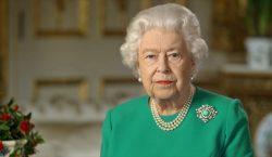 """""""Venceremos"""": La reina Isabel II agradece al personal de salud…"""
