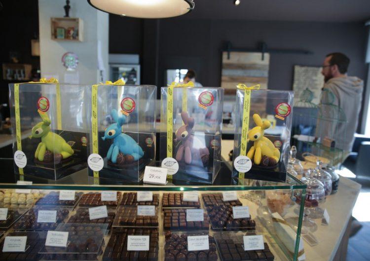El virus amarga la Pascua a los chocolateros belgas