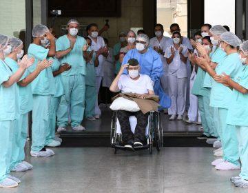 Militar de 99 años se cura del coronavirus en Brasil