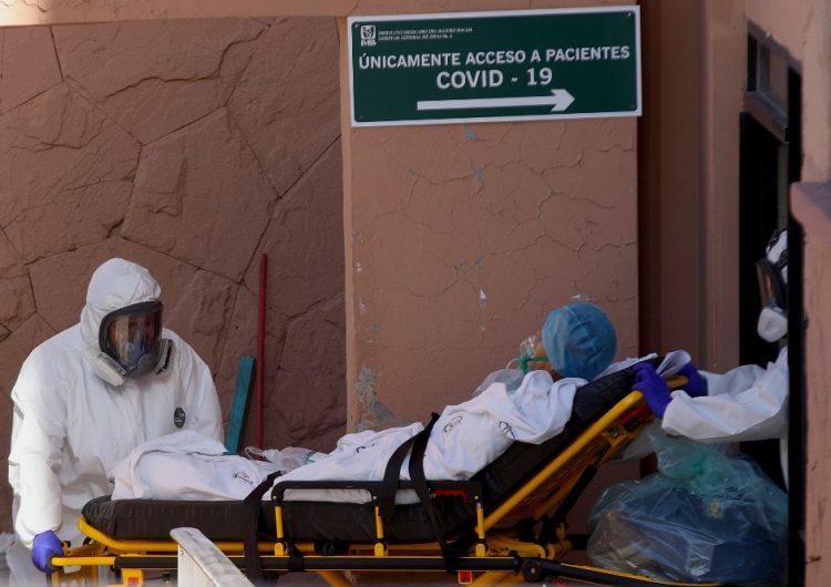 México registra 1,221 muertes y 12,872 contagios de COVID-19