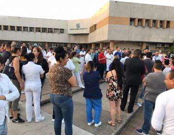 Reclama insumos personal médico del IMSS en Aguascalientes
