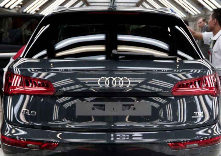 Audi extiende paro laboral hasta el 31 de mayo