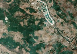 Los incendios en Chernóbil son monitoreados y mapeados por Europa desde el espacio