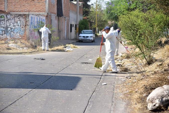 Realiza municipio de Aguascalientes segunda mega jornada de desinfección