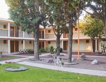 Conoce la zona de aislamiento externo para pacientes de Covid-19 en Aguascalientes