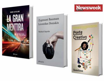 Tres libros: mentiras, perversidad y creatividad
