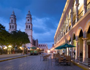 Cierran centro histórico de Campeche