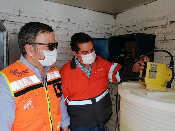 Realizan CCAPAMA y Veolia Aguascalientes recorridos de supervisión de pozos de agua potable