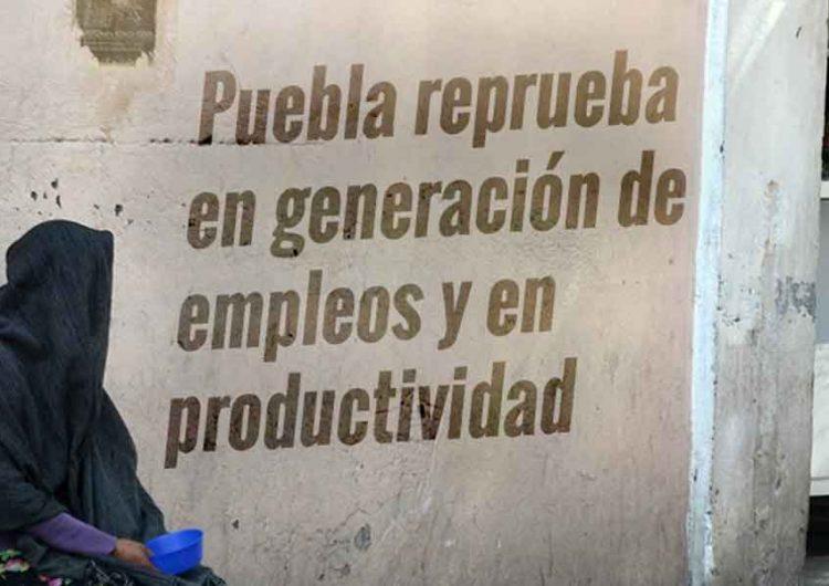 Reprueban a Puebla en generar empleos y productividad