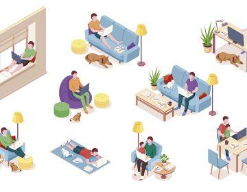¿Te toca trabajar desde casa? Echa un vistazo a estos consejos