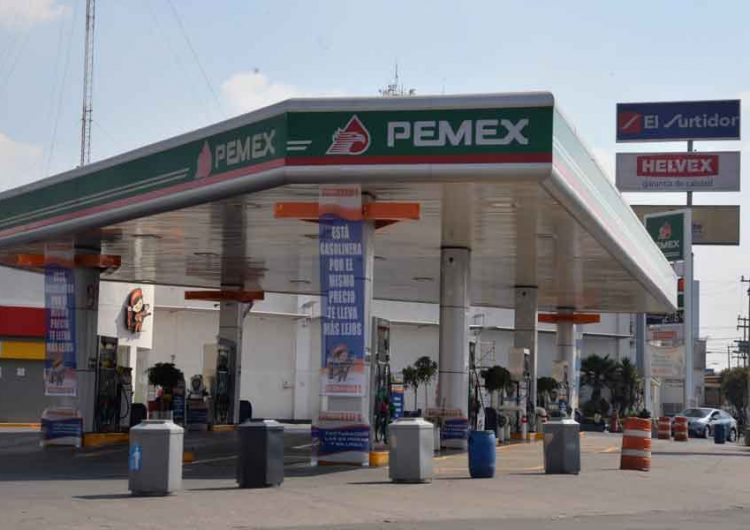 Venta de gasolina en Puebla, disminuye