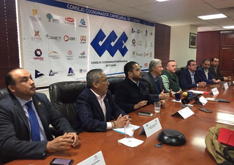 Peligran miles de empleos en Tijuana y el plan de AMLO no lo atiende: CCE