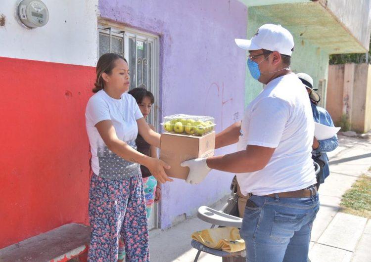 Inician entrega de apoyos alimentarios en Jesús María