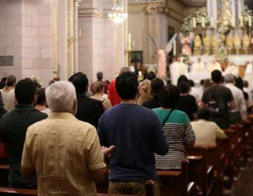 Se realizan misas de Semana Santa con público en Aguascalientes