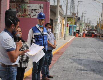 Inauguran calle pavimentada en Jesús María