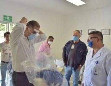 Continúa municipio de Jesús María entregando equipo médico a hospitales