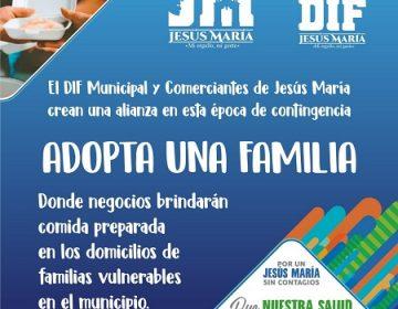 """Entregan primeros apoyos del programa """"Adopta una familia"""" en Jesús María"""