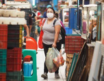 Recortan horario de mercado en Mérida (Galería fotográfica)